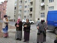 Kars'ta evler buzdolabı!