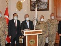 Bakan Yardımcısı Ersoy ve Orgeneral Çetin Kars'ta!