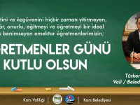 Vali Öksüz'ün Öğretmenler Günü mesajı