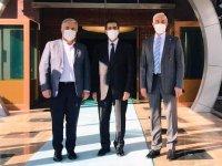 Milletvekilleri Kars'ın önemli projeleri için Ankara'da temasta