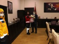Müdür Lazoğlu, 112 çalışanlarını kutladı