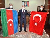 Türk ve Azerbaycan şehitleri için Fatiha okundu