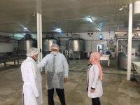Altıntaş, Süt İşletmeleri'nde incelemelerde bulundu