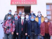 """Vali Öksüz, """"Kars'ta vaka sayıları yüzde 80 azaldı"""""""