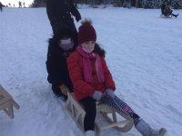 Bakan Selçuk, Kars'taki çocuklara kızak gönderdi