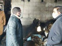 Başkan Çalkın'dan evi yanan Acar ailesine anlamlı ziyaret