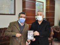 Serdar Ünsal'dan Gazeteci Tacettin Durmuş'ateşekkür belgesi