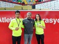 Tuğba Toptaş ve Hakan Buğanli, Türkiye şampiyonu oldu