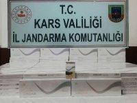 Jandarma kaçak bandrolsüz sigaraları yakaladı