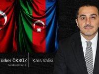 """Kars Valisi Türker Öksüz : """"Hocalı Soykırımı'nın 29. Yılı Unutmadık, Unutmayacağız..."""""""