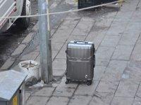 Şüpheli valiz polisi alarma geçirdi