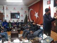 Kars'ta, 50 kişi MHP'ye katıldı