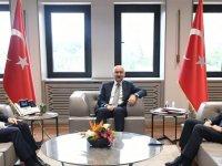 Arslan ve Kılıç, Ulaştırma Bakanıyla önemli projeleri görüştü