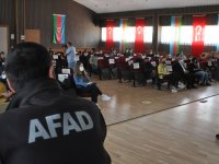 AFAD'ın afet farkındalık eğitimleri devam ediyor
