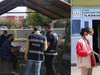 Kars'ta okul çevresi ve servisler denetlendi