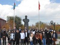 Azerbaycan Kars Başkonsolosluğu bağımsızlığın 30. yılını kutladı