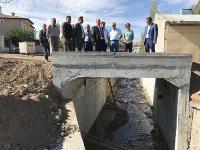 DSİ Kars 24. Bölgenin yaptığı Tuzluca taşkın koruma tesisi hazır