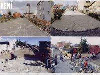 """Karaçanta: """"Bozuk yol, kaldırımsız cadde ve sokaklarda çalışmalarımız sürüyor"""""""