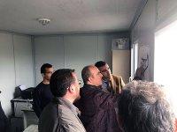 DSİ Kars 24. Bölge Müdürü Dündar, 243. Şube tesisleri inşaatını inceledi