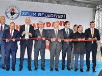Selim Kent Meydanı hizmete girdi