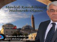 Başkan Karaçanta'nın Mevlid Kandili Mesajı