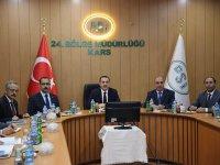 Vali Türker Öksüz, DSİ Kars 24. Bölge Müdürlüğünü ziyaret etti