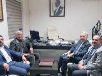 KAÜ Rektörü Prof. Dr. Hüsnü Kapu, Arslan ve Kılıç'ı ziyaret etti