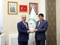 DSİ Kars 24. Bölge Müdürü Dündar'dan Rektör Alma'ya ziyaret