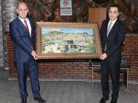 Vali Türker Öksüz, Prof. Dr. Özcan'ın veda yemeğine katıldı