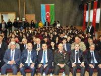 Merhum Haydar Aliyev, vefatının 15. yılında Kars'ta anıldı