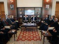 AK Parti heyetinden Vali Öksüz'e ziyaret
