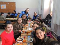 Kars Emniyeti, öğrencilerle Yerli Malı Haftasında bir araya geldi