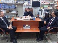 Alibeyoğlu, bazı projelerini Yakup Tan'a anlattı