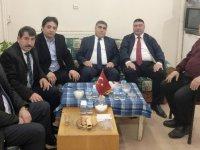 CHP Adayı Taner Toraman, Gazeteciler Cemiyetini ziyaret etti