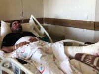Gazeteciler Cemiyeti Başkanı Ercüment Daşdelen'in ayak bileği kırıldı