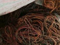 Kars'ta kablo hırsızlığı!