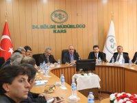 DSİ Kars 24. Bölgede mutabakat değerlendirme toplantısı