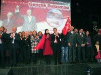 Cumhur İttifakı Kars Belediye Başkan Adayı Çetin Nazik gençlerle buluştu.