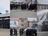 """Kars'ta """"Senaryolu Toplumsal Olaylara Müdahale Tatbikatı"""""""
