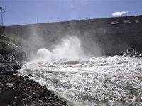 Kars Barajının Dipsavak çıkışı görenleri büyülüyor
