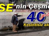 YSE'nin yaptığı çeşme 40 yıldır kesintisiz akıyor