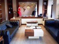 Başkan Bilgen'in makam koltuğu haczediliyor