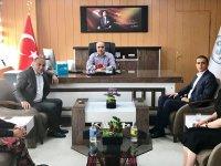 Kars PTT'den DSİ 24. Bölge Müdürlüğüne tanıtım ziyareti