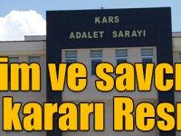 Kars'ta hakim ve savcıların görevde yükselme kararı Resmi Gazete'de!