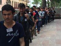 Kars'ta 44 kaçak göçmen yakalandı