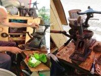 Kağızman'da bir süt makinesi tamircisi 'Çokabi' usta