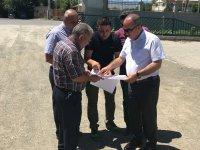 DSİ 24. Bölge Müdürü Mahmut Dündar, inşaat faaliyetlerini inceledi