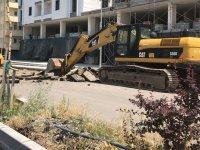 Kars'ta şehiriçi yolları yapılıyor