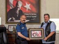 Dr. Bayburtluoğlu, Emniyet Müdürü Bitirik'i ziyaret etti