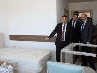 Kars Valisi Türker Öksüz yatırımları inceledi